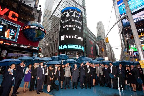 simcorp to ring the nasdaq stock market closing - www.docdb.comuv.com