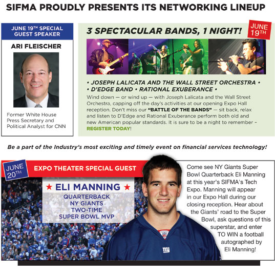 SIFMA Tech Expo Ad