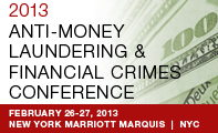 Anti-Money Laundering and Financial Crimes Conference