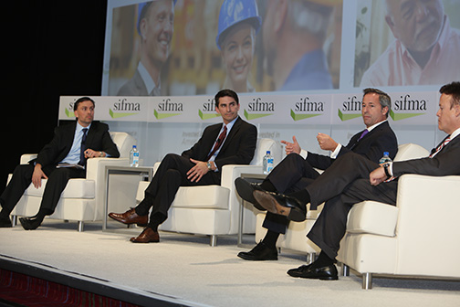 A panel of commercial company executives gather to discuss their take on capital markets.