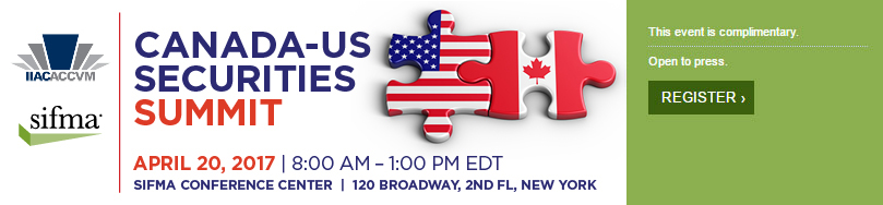 Canada-US Securities Summit