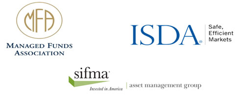 ISDA - MFA - SIFMA logos - 24 Investment Management Firms Commit to Single-Name CDS Clearing