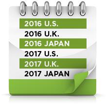 Calendar dates 2015-2016