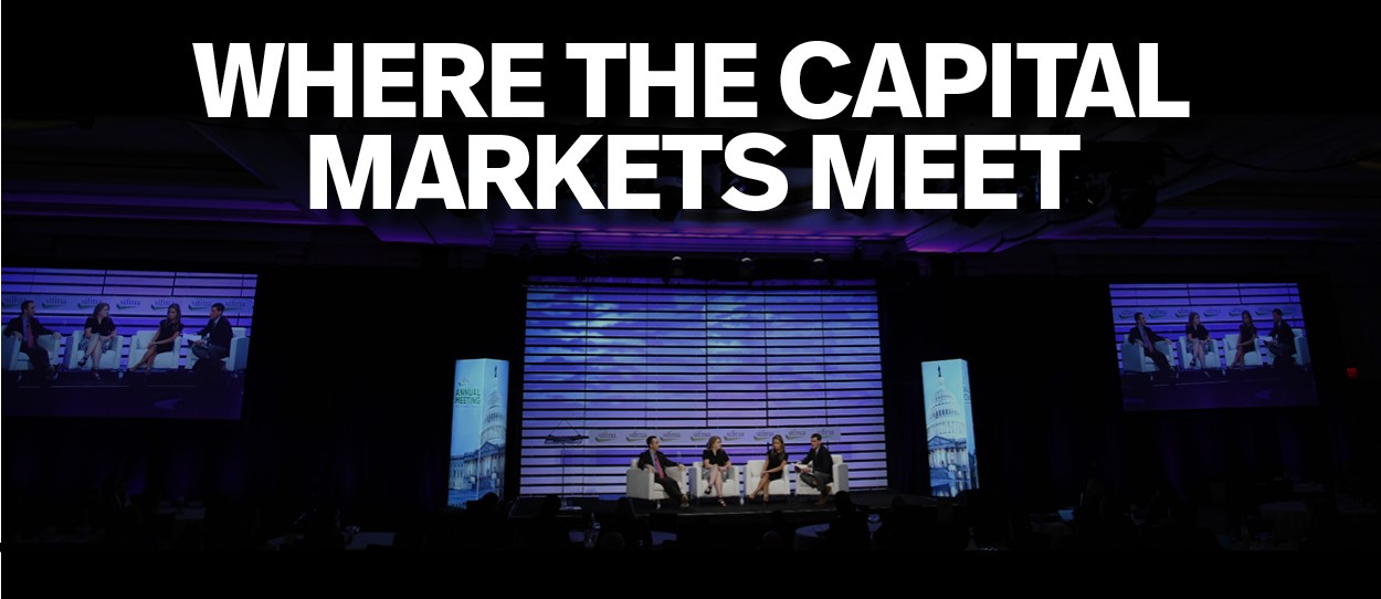 SIFMA's 2019 Annual Meeting - Where the Capital Markets Meet