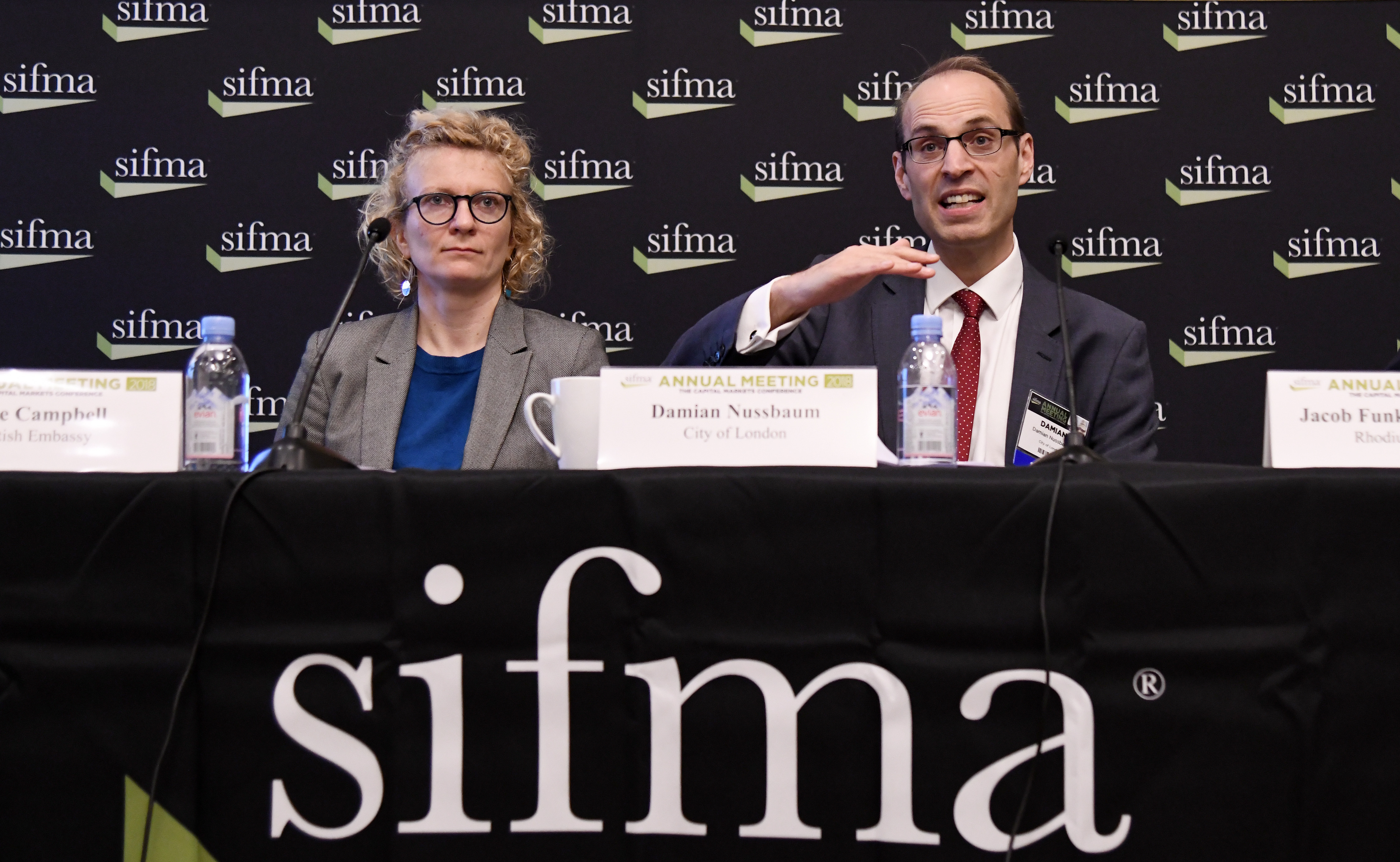 Damian Nussbaum, City of London - SIFMA's Brexit Briefing
