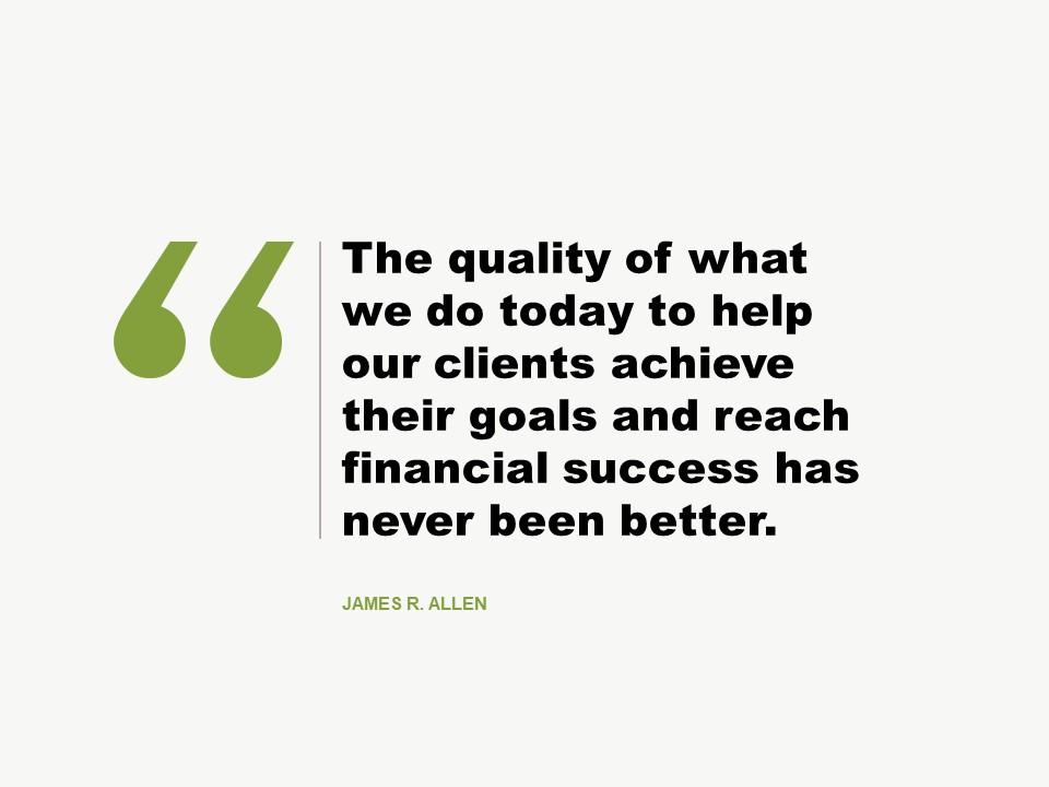 Jim Allen on Clients First