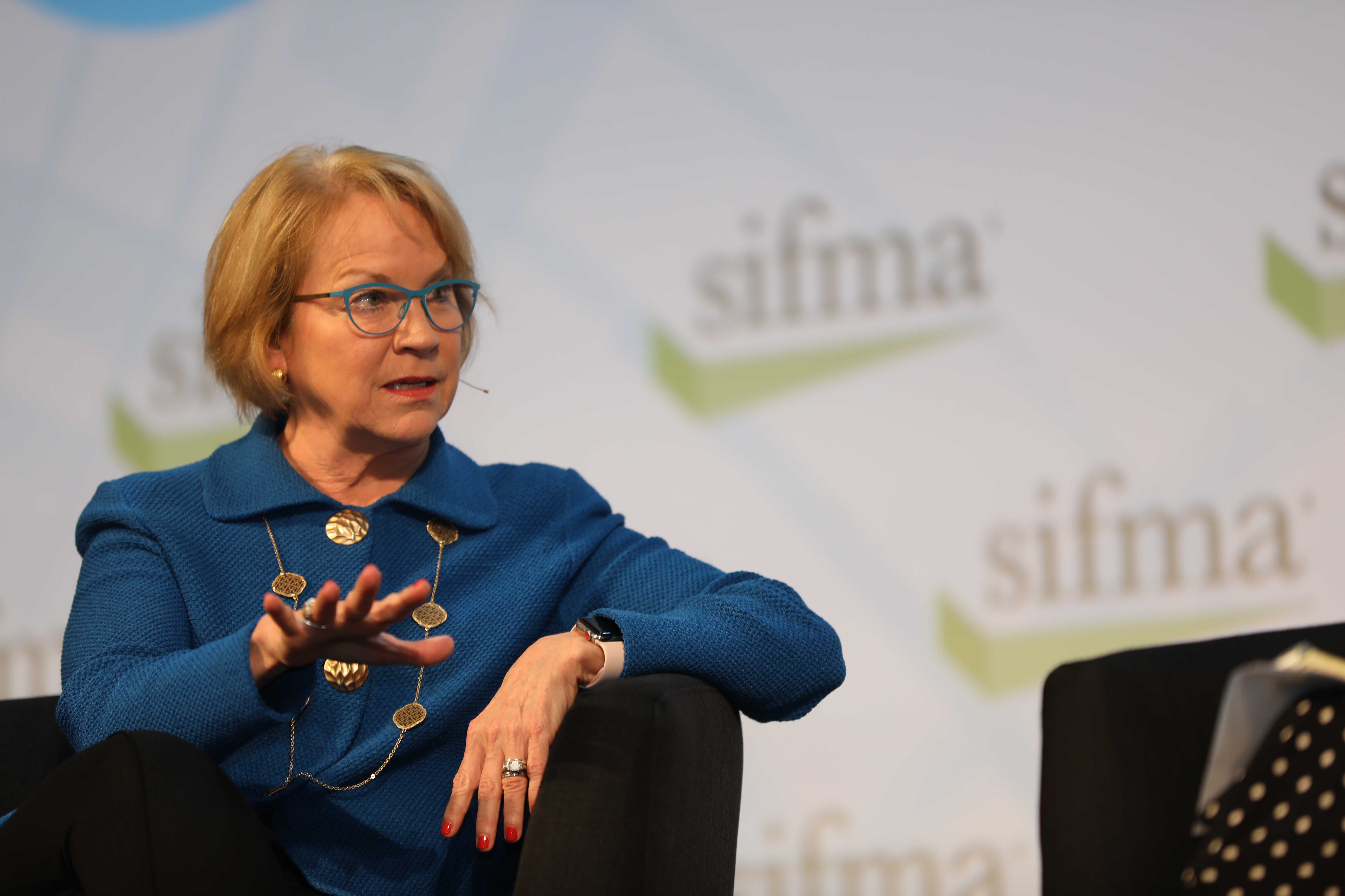 cathy bessant at the operations conference & exhibition
