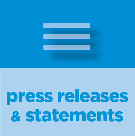 Press Releases & Statements