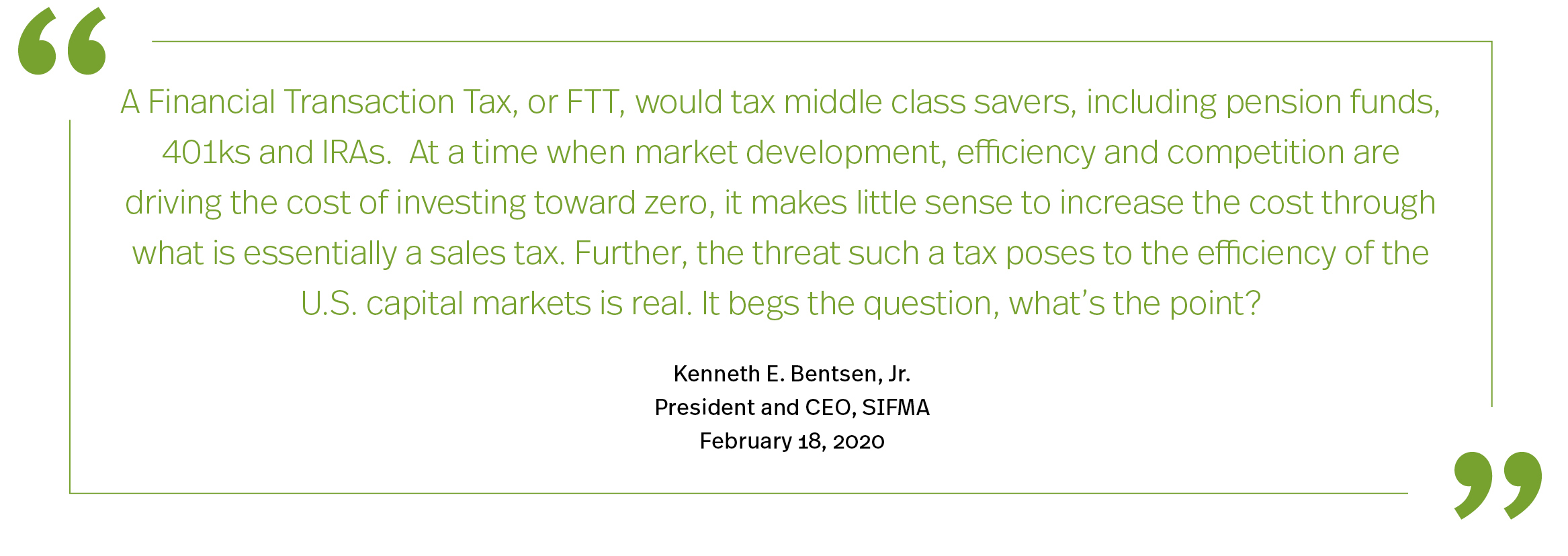 Tax Policy Supporting Economic Growth Quote